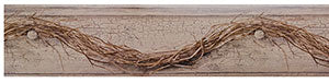 -$$ Grapevine Twig Wall Border - The Weathered Loft LLC