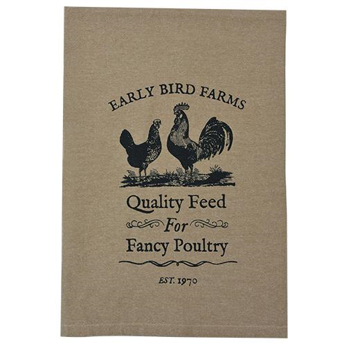 Fancy Poultry Tea Towel - multi pack (6)