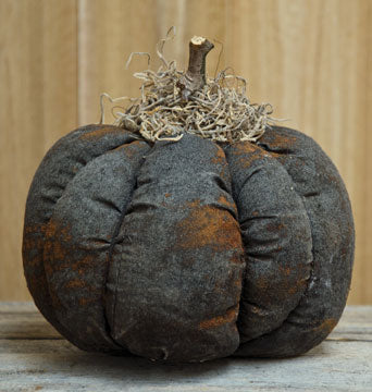 Stuffed Black Pumpkin 5