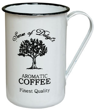 -$$ Enamelware Coffee Cups (6pack) - The Weathered Loft LLC
