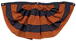 "Orange And Black Bunting 40"" (2pk)"