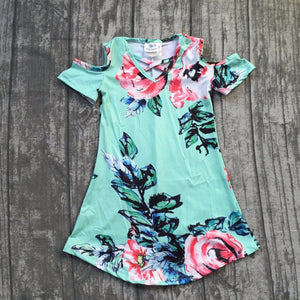 Girls Floral Pattern Dress