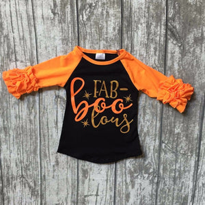 Girls Fab-boo-lous ruffled top