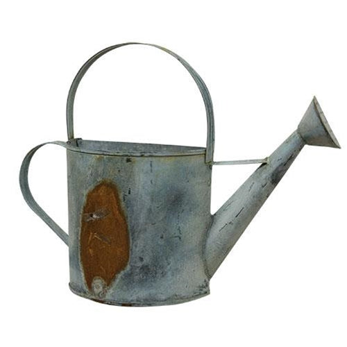 Rusty/Galvanized Wall Watering Can - 5
