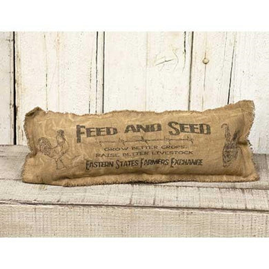 Feed & Seed Pillow, 17x6 - The Weathered Loft LLC