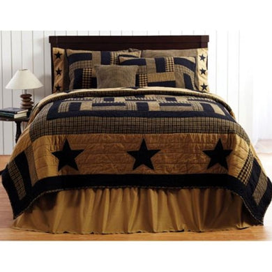 Delaware Star King Quilt - The Weathered Loft LLC
