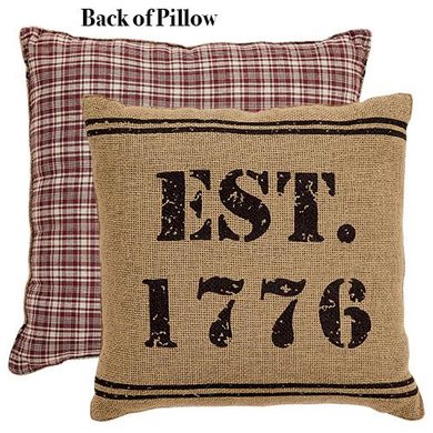 Independence 1776 Pillow - The Weathered Loft LLC