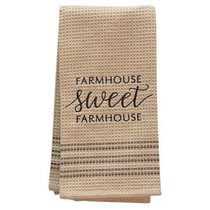 Sweet Farmhouse Dish Towel, 20x28