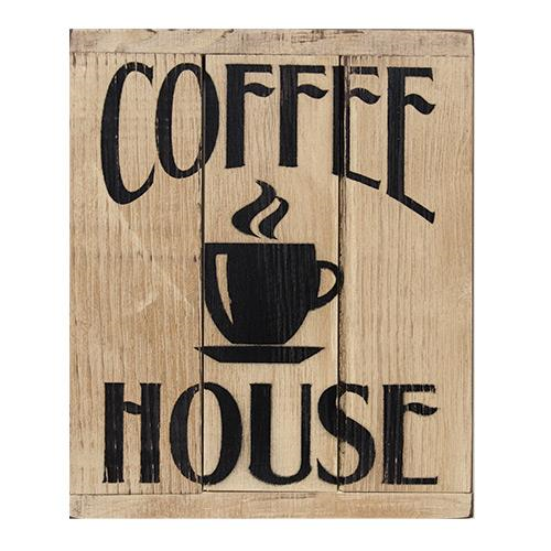 Sale! Coffee House 3-Panel Sign