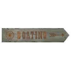 Boating Sign - The Weathered Loft LLC