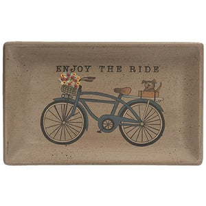 Enjoy the Ride Tray - The Weathered Loft LLC