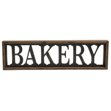 -$$ Bakery Framed Sign - The Weathered Loft LLC