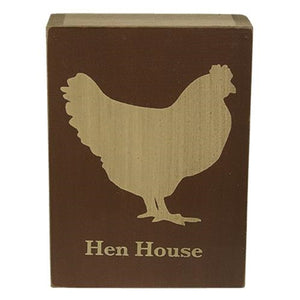 Hen House Box Sign - The Weathered Loft LLC