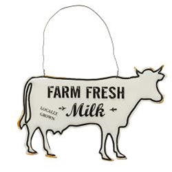 Farm Fresh Milk Ornament