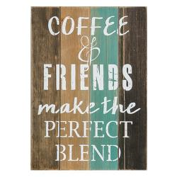 Coffee and Friends Sign - The Weathered Loft LLC