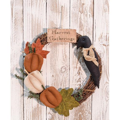 Harvest Gatherings Wreath