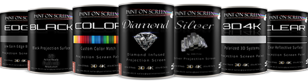 a coating for every projection screen