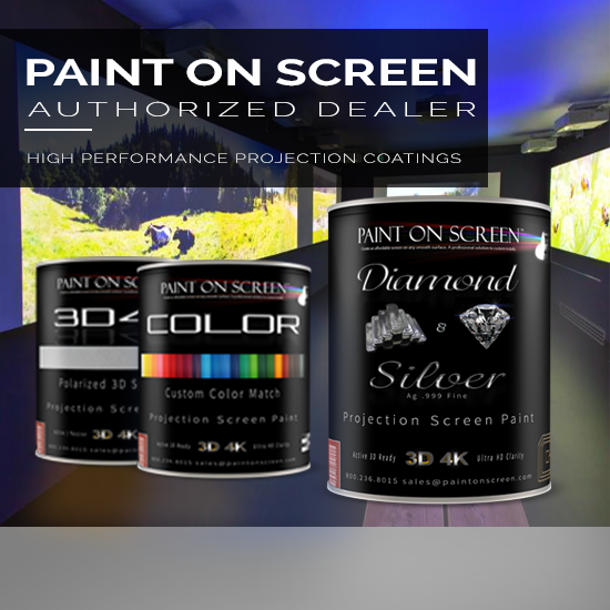 Paint On Screen - Paint a Projection Screen Anywhere!