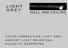 Wall and Ceiling Ambient Light Rejecting Acoustic Dampening