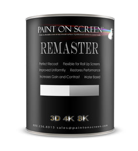 REMASTER - Resurface any existing screen. Renew gain and contrast.