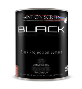 BLACK - Projection Screen