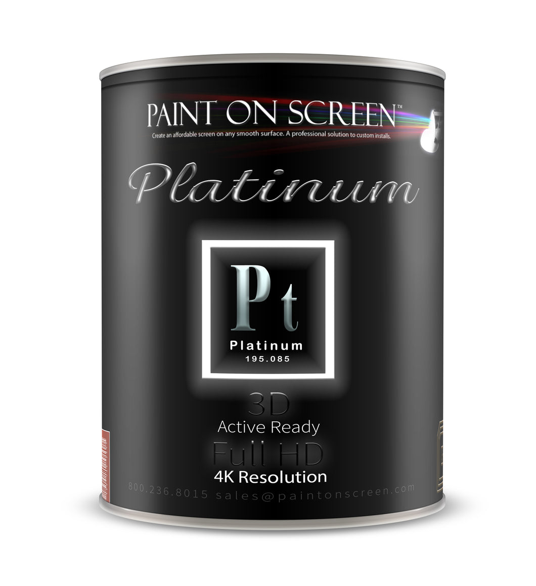 Platinum Projection Screen Paint