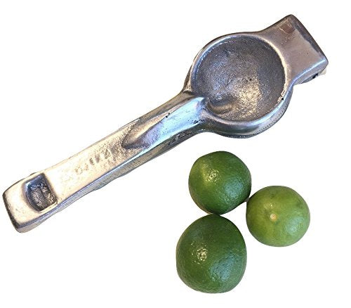 Vintage Lemon Squeezer – Single Press Manual Juicer - Ultra Heavy Duty - Easy To Use - Lemon Lime Juicer - Anti-corrosive