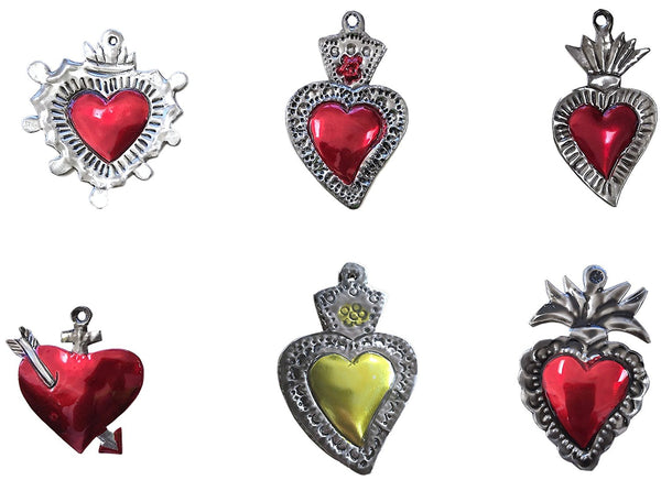 Milagros Charms - set of 6