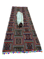 Yoga Mat with Carry Bag - Indian Style - Beautiful, Lightweight and Non-Slip - Designed by Yoga Trainers - Hand-made - Black