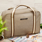 NaSaDen [Coffee Brown] - Travel Tote Bag [Luxury] - NaSaDen