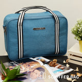 NaSaDen [Peacock Blue] - Travel Tote Bag [Luxury] - NaSaDen