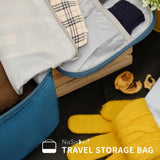 NaSaDen Underwear Storage Bag  [ Peacock blue]/ Travel accessory - NaSaDen