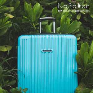 "NaSaDen New Schloss Sanssouci Series [Sky Blue] 29"" Zipper Luggage  [1 year warranty] - NaSaDen"