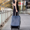 "NaSaDen [Deep Blue] 26"" Zipper Luggage [1 year warranty] - NaSaDen"