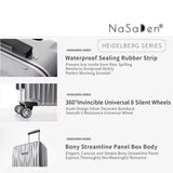 "NaSaDen [Greven Titanium] 28"" Checked Luggage Aluminium Frame [1 year warranty] - NaSaDen"