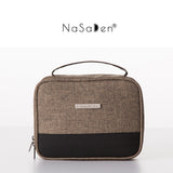NaSaDen Toiletry Bag [Coffee Brown] / Travel Accessory - NaSaDen