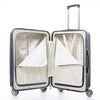 "NaSaDen New Schloss Sanssouci Series [Silver] 26"" Zipper Luggage [1 year warranty] - NaSaDen"