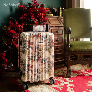 "NaSaDen Secret Garden Series Limited Edition [Flora Pink] 26"" Zipper Luggage  [1 year warranty]"