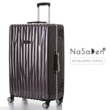 "NaSaDen [Calw Purple] 28"" Checked Luggage Aluminium Frame [1 year warranty] - NaSaDen"