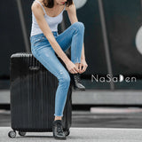 "NaSaDen [Black] 29"" Zipper Luggage  [1 year warranty] - NaSaDen"