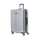 "NaSaDen New Schloss Sanssouci Series [Silver] 29"" Zipper Luggage [1 year warranty]"