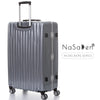 "NaSaDen [Guben Silver] 28"" Checked Luggage Aluminium Frame [1 year warranty] - NaSaDen"