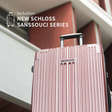"NaSaDen New Schloss Sanssouci Series [Rose Gold] 29"" Zipper Luggage [1 year warranty] - NaSaDen"