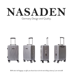 "NaSaDen [All colors] Aluminium Frame 20"" Carry On [1 year warranty] - NaSaDen"