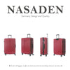 "NaSaDen [Aichach Red] 29"" Zipper Luggage [1 year warranty] - NaSaDen"
