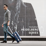 "NaSaDen Heidelberg Series [Heideck Blue] Aluminium Frame 20"" Carry On  [1 year warranty] - NaSaDen"