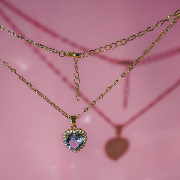 Buy 1 Free 1: Violet Self-Love Necklace
