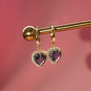 Buy 1 Free 1: Violet Self-Love Earrings