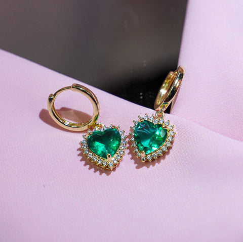 Buy 1 Free 1: Emerald Self-Love Earrings