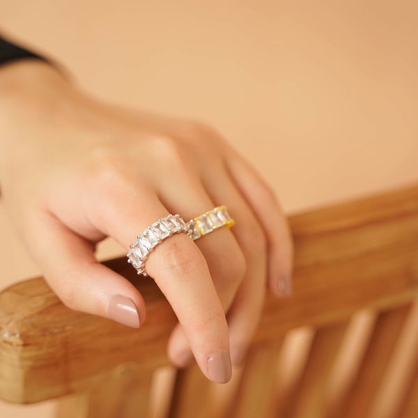 Buy 1 Free 1: Ice Ice Baby Silver Ring
